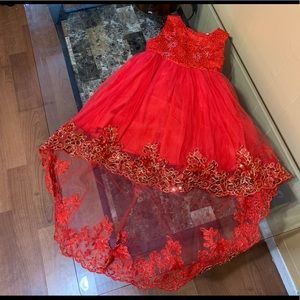 Beautiful Red Dress for toddler girl